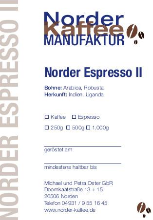 Norder Espresso II
