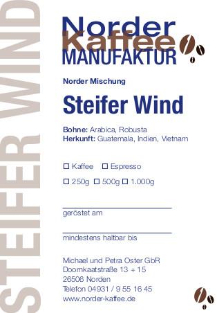 Steifer Wind