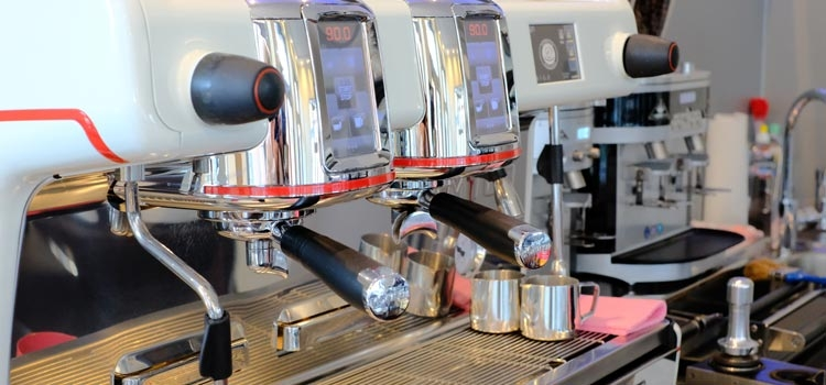 Professionelle Kaffeezubereitung