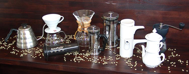 Wir haben die richtigen Kaffeesorten für verschiedene Zubereitungen