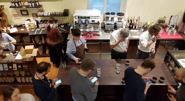 Verkostungswettbewerb in der Norder Kaffeemanufaktur