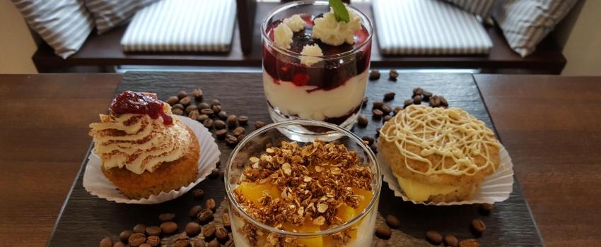 Kuchenspezialitäten in der Norder Kaffeemanufaktur